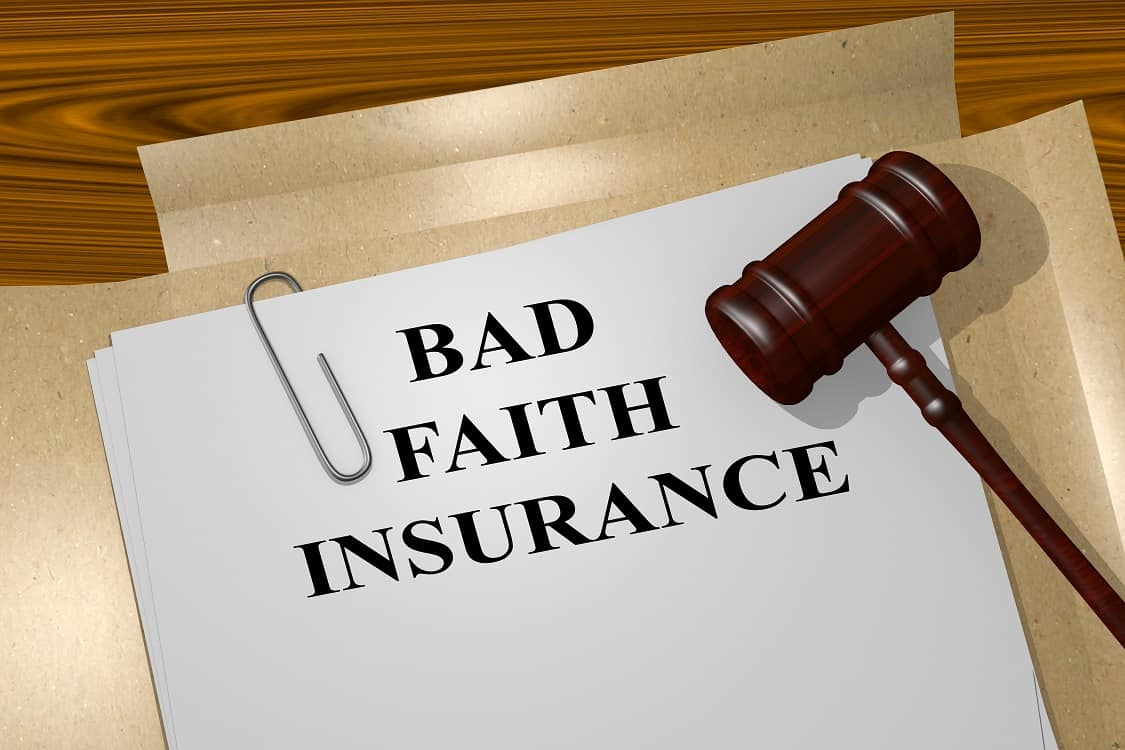 Bad Faith Insurance legal