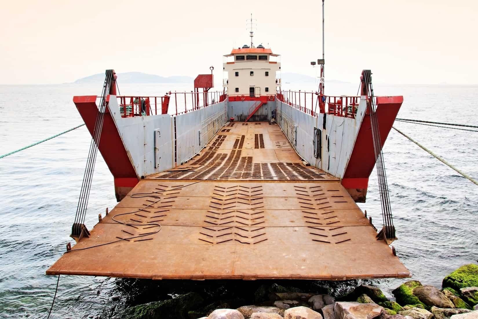 Voyage Charter landing craft